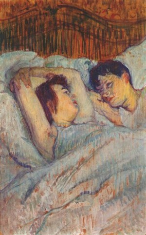 Toulouse-Lautrec, The Bed 1892