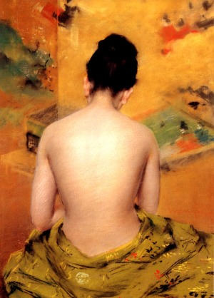 William Merritt Chase, Back of a Nude, 1888